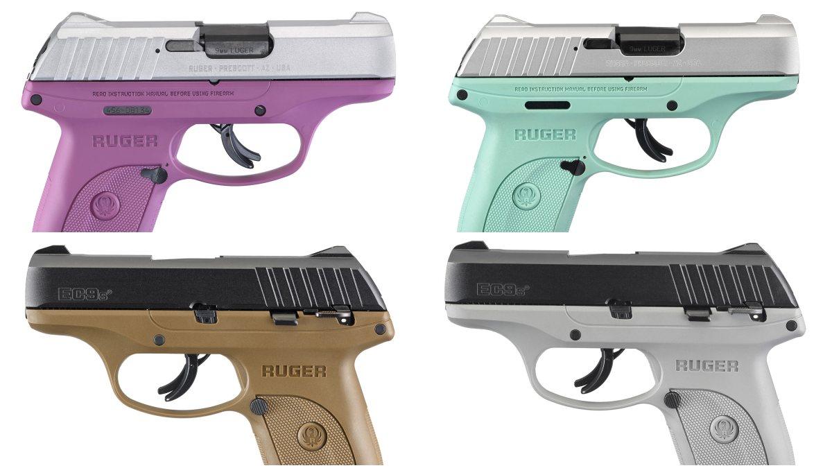 New Ruger EC9 Colors