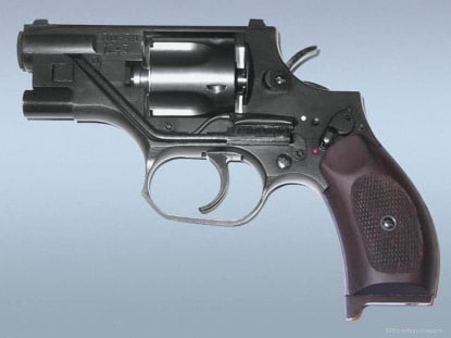 OTs-38 suppressed revolver