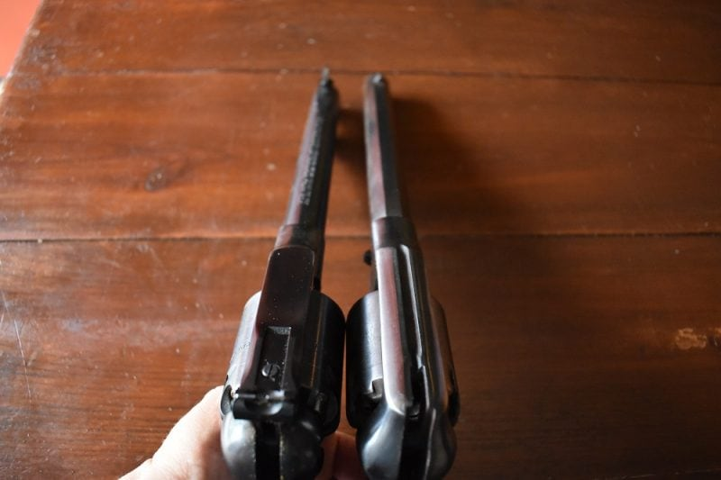 Remington New Army Ruger Old Army compared (10)