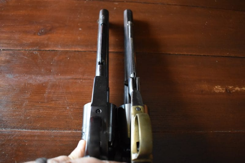 Remington New Army Ruger Old Army compared (9)