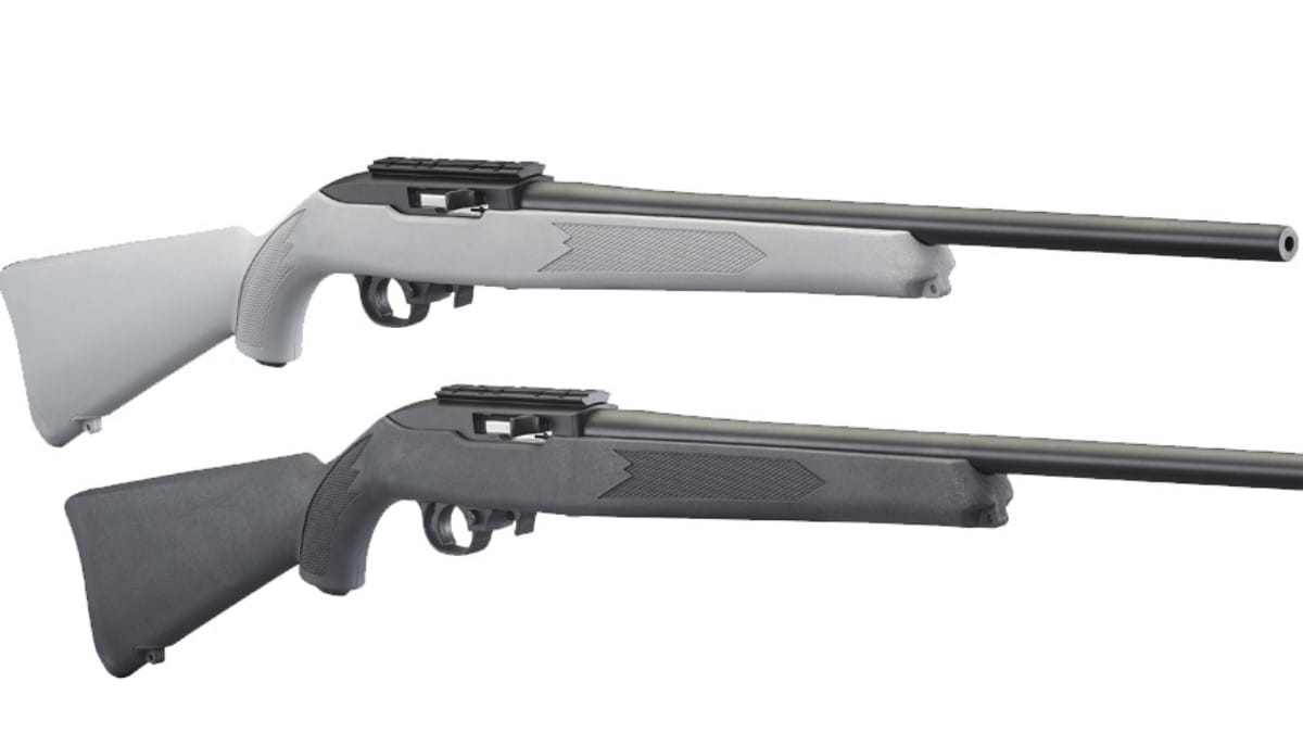 Ruger Announces Short Run of 10/22 Rifles with Gray, Charcoal Stocks