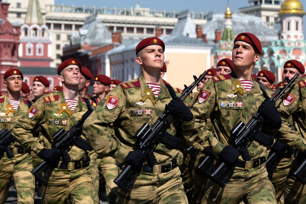 In all, an estimated 80 million or more AK series guns were made across the world and in a dizzing array of variants. Today, the Russian army fields the new AK-100/200 series guns in 5.45x45, seen in this image from the 2019 Victory Day Parade in Red Square (Photo: Russian Ministry of Defense)
