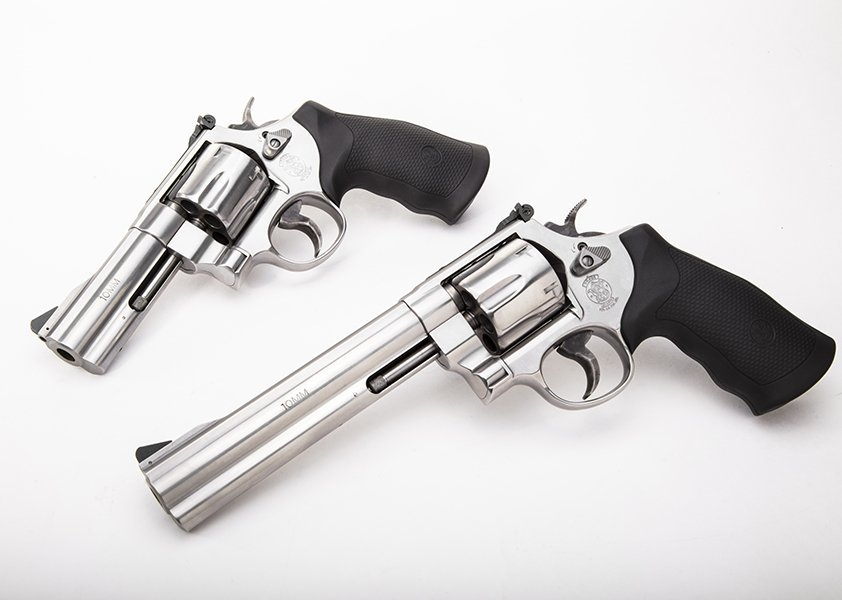 S&W's current generation of the Model 610 is a big N-Frame available in both 4.5- and 6-inch barrel configurations. (Photo: S&W)