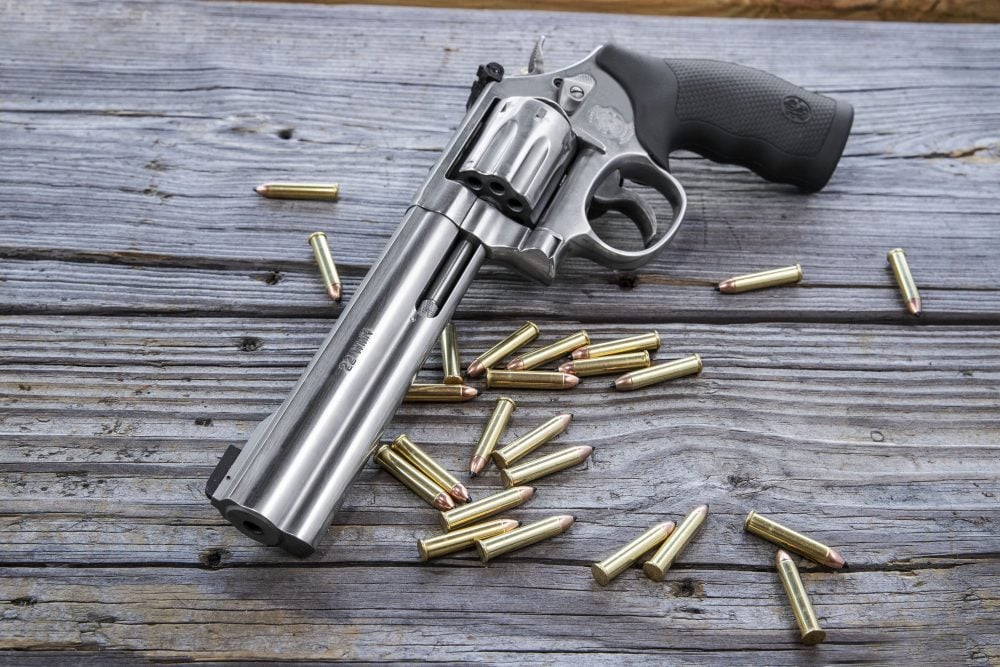 The Model 648 has been out of production since 2005 but is now back and ready for work. (Photos: S&W)