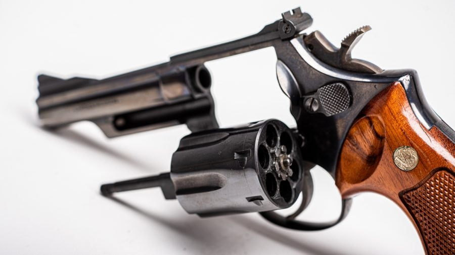 The standard Model 19 is runs a 4-inch barrel with a ramp front sight and adjustable rear. Although chambered in .357 Magnum, they also accommodate .38 Special rounds as well. (Photo: Richard Taylor/Guns.com