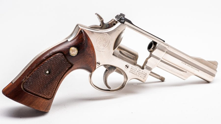 Who doesn't like nickel when it comes to vintage wheel guns? (Photo: Richard Taylor/Guns.com)