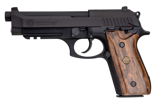 Taurus Announces 2 New PT-92 Pistol Models with Walnut Grips 2
