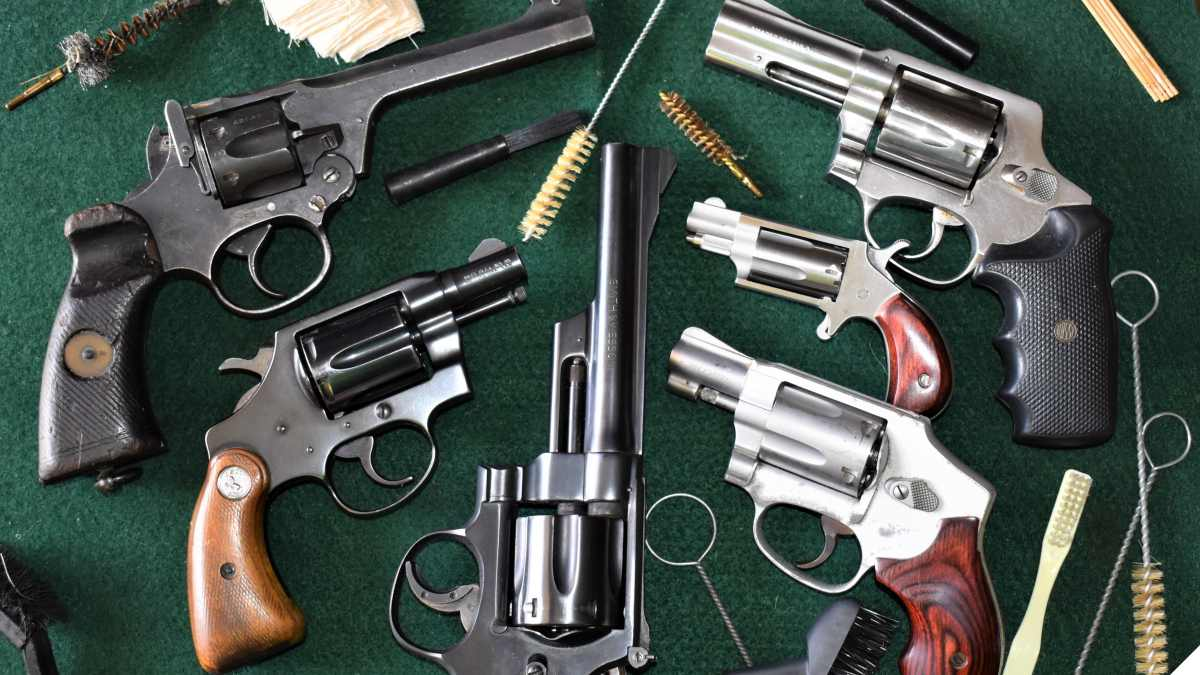 The Art of Revolver Cleaning and Maintenance
