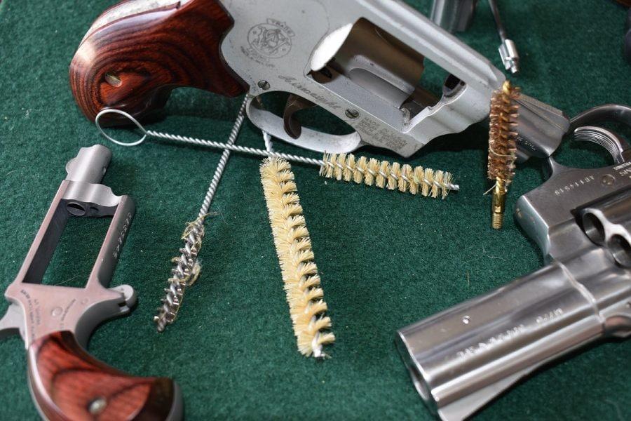 barrel brush revolver