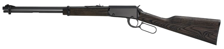 While it looks like a lever-action .22 rifle, the Garden Gun is actually a shotgun meant to fire .22WMR rat shot cartridges. (Photo: Henry)
