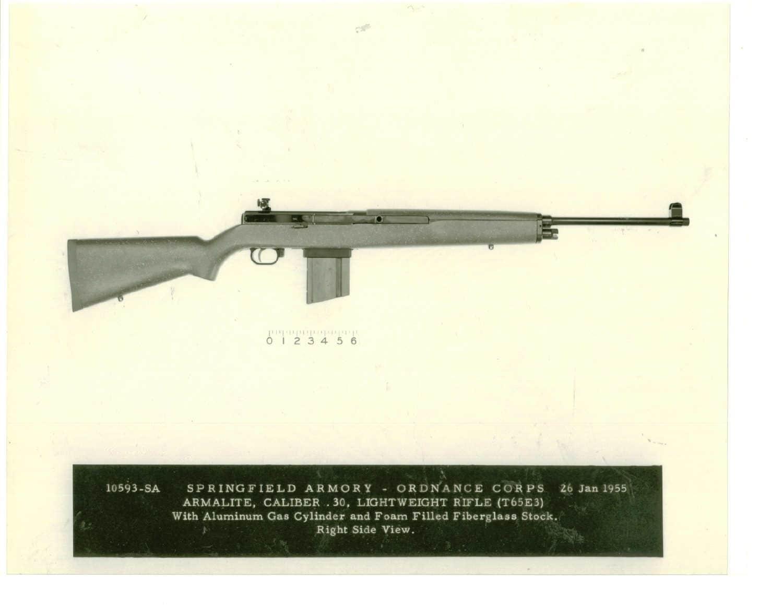 Armalite Caliber .30 Lightweight Rifle T65E3