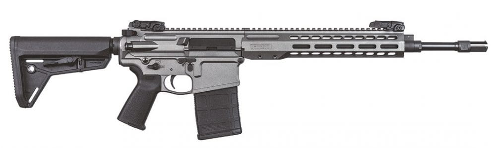 Barrett Grows REC10 .308 Carbine line Tungsten Grey