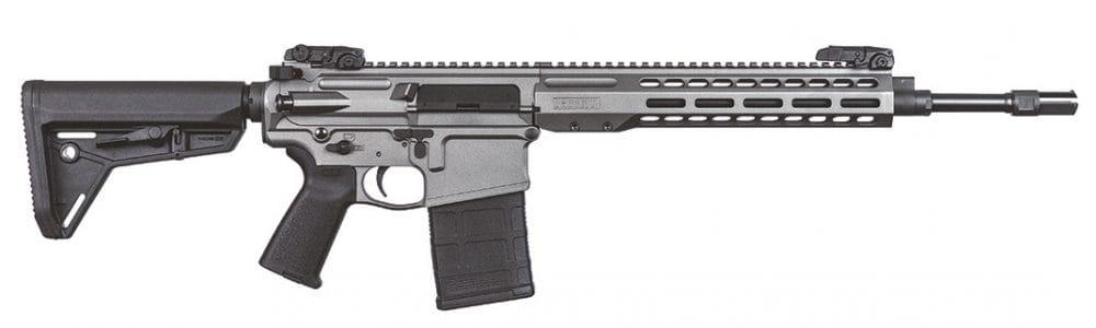 Barrett Grows REC10 .308 Carbine line Tungsten Grey