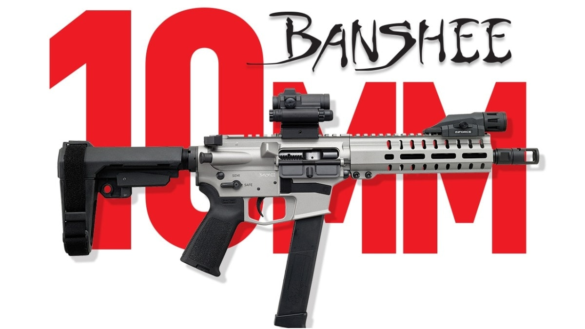 CMMG Launches New 10mm Banshee in Six Pistol, SBR Variants