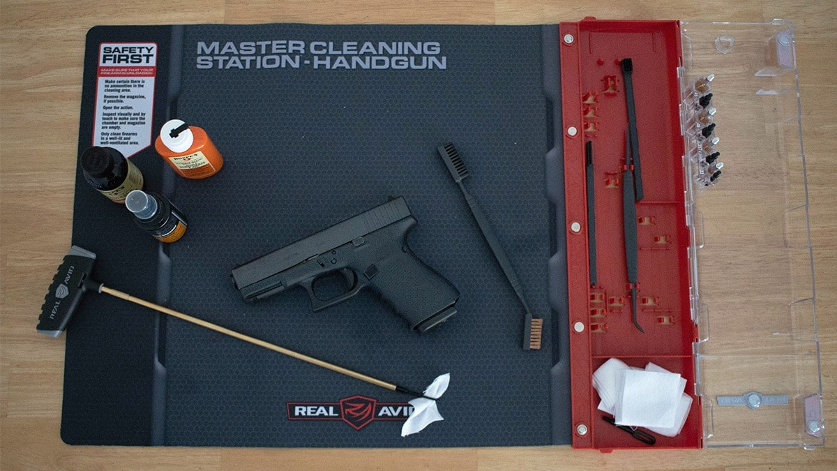 Cleaning a glock