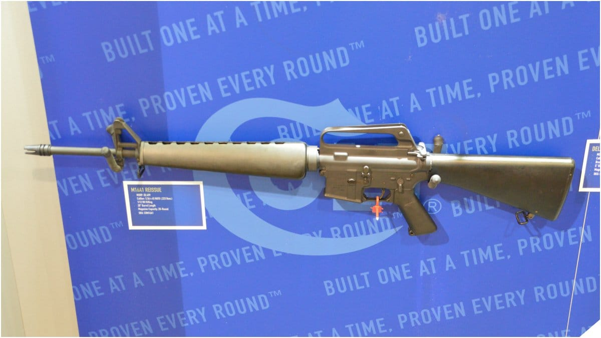 Colt Reportedly to Stop Making Rifles for Consumer Market