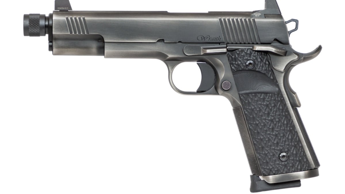 The newest 1911 in Dan Wesson's stable is the Wraith (Photos: Dan Wesson)