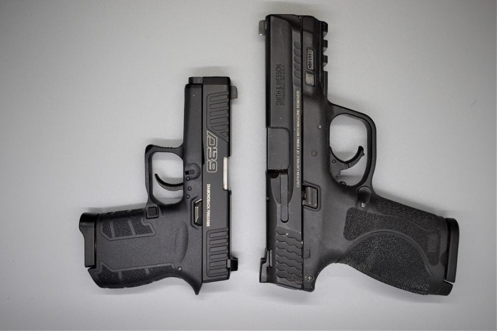The same can be said for the S&W M&P M2.0 Compact.
