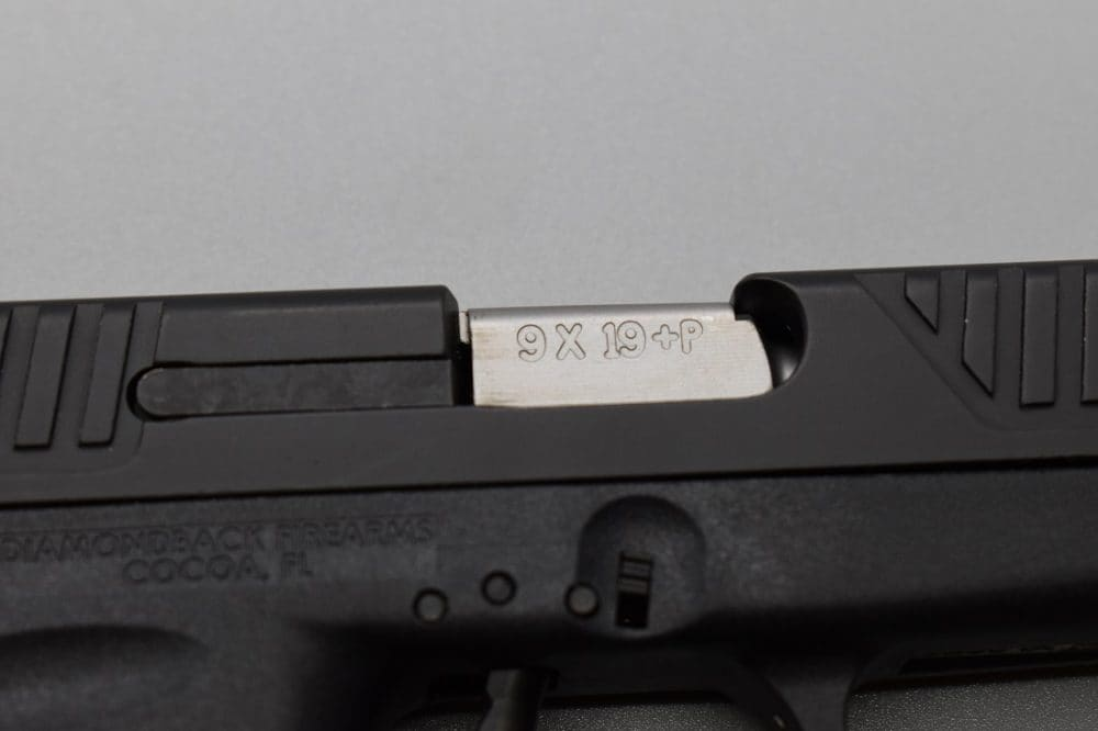 While popping spicy 9mm +P out of a 13-ounce gun doesn't sound fun, the DB9 Gen 4 is rated for the task.