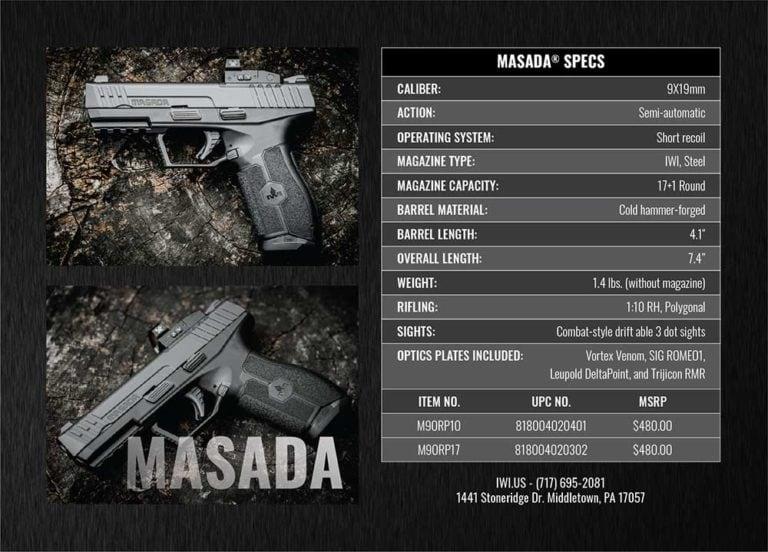 IWI-Masada-Spec-Card