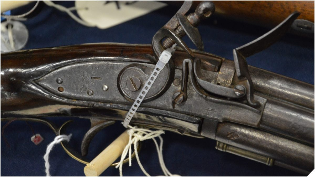 Bound tied locked flintlock