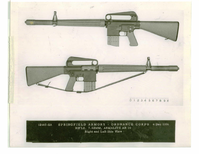 7.62mm Armalite AR-10 1956 SPAR 12465-SA.A.1 Rifle