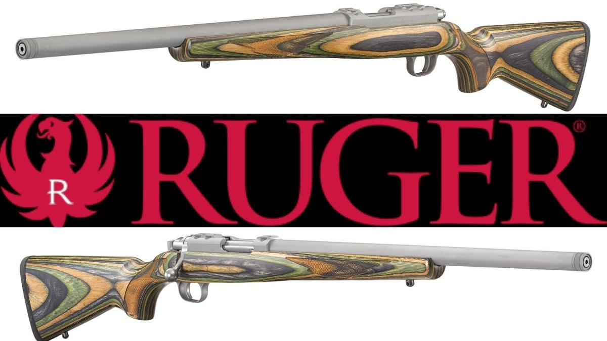 If you are a fan of .17/22 Hornet and .17 WSM but like some quiet time and laminated stocks, Ruger has a new rifle that could scratch a lot of itches. (Photo: Ruger)