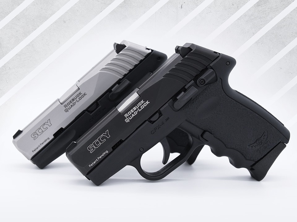 SCCY new CPX-4 pistol