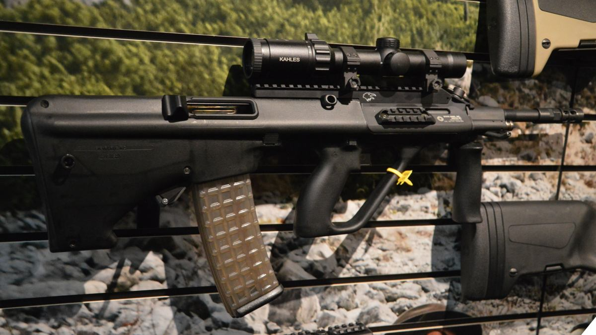 Steyr AUG: Over 40 Years Young and Going Strong