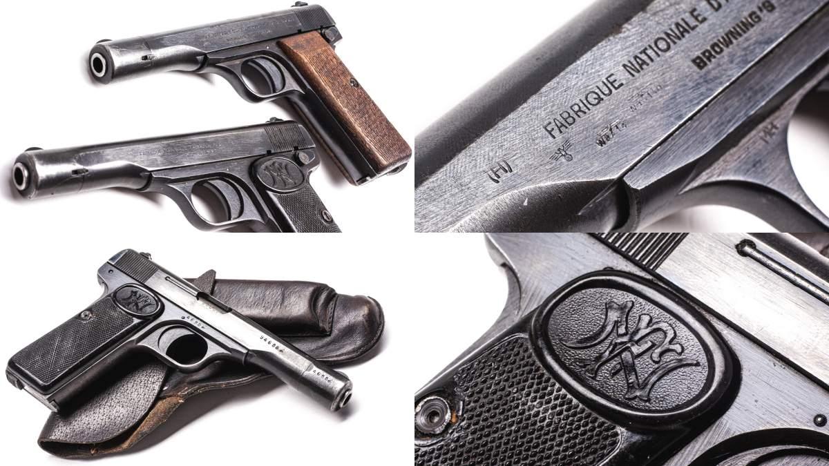 The Fantastic FN 1922 Pistol: WWII Semi-Auto Sleeper