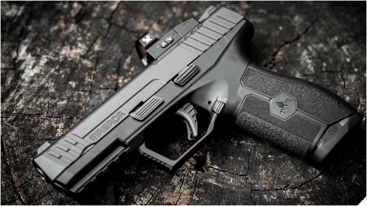 The IWI Masada 9mm Pistol has Finally Arrived