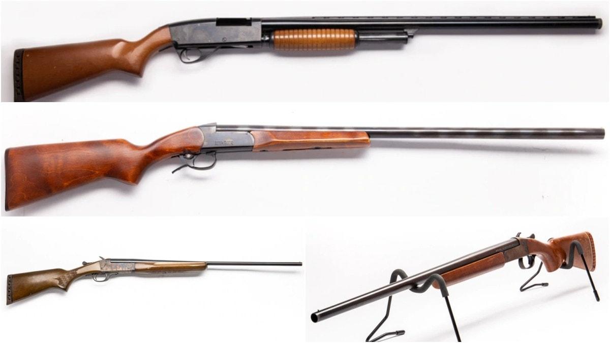 Used shotguns Winchester 370 Baikal Stevens 67E Stevens 94
