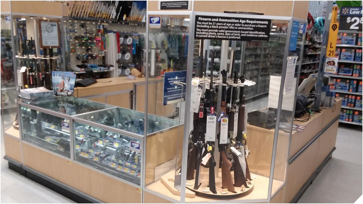 Walmart announced Tuesday they will no longer sell handguns and will cut many of their most popular ammunition calibers (Photo: Chris Eger/Guns.com)
