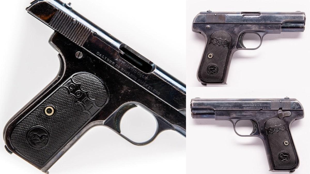 1908 produced Model 1903 Colt Pocket Hammerless 32s