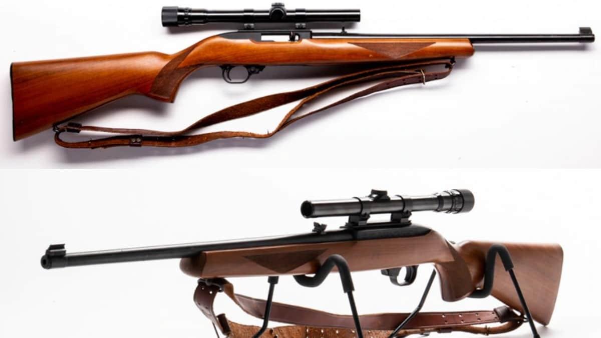 2 ruger 10-22 tactical rifles