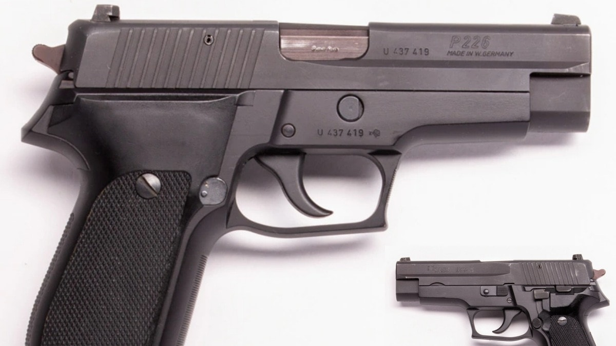 1980s Classic The West German Sig Sauer P226