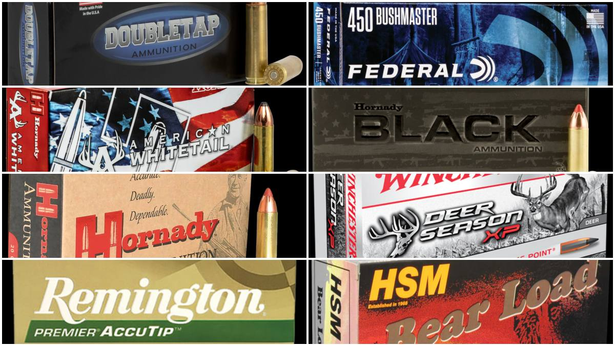 Whereas initial ammo offerings were limited, there is growing variety on the market from both household names and niche cartridge makers when it comes to .450BM
