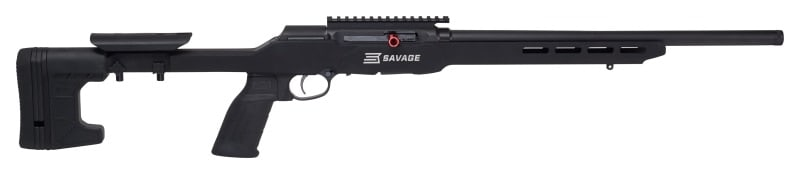 The A22 Precision has a user-adjustable AccuTrigger and Pic rail. (Photo: Savage)