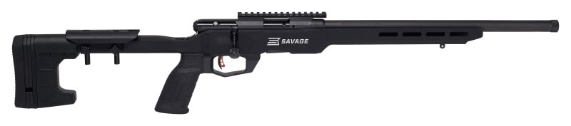 Other features include a 10-round detachable magazine and user-tunable AccuTrigger (Photo: Savage)