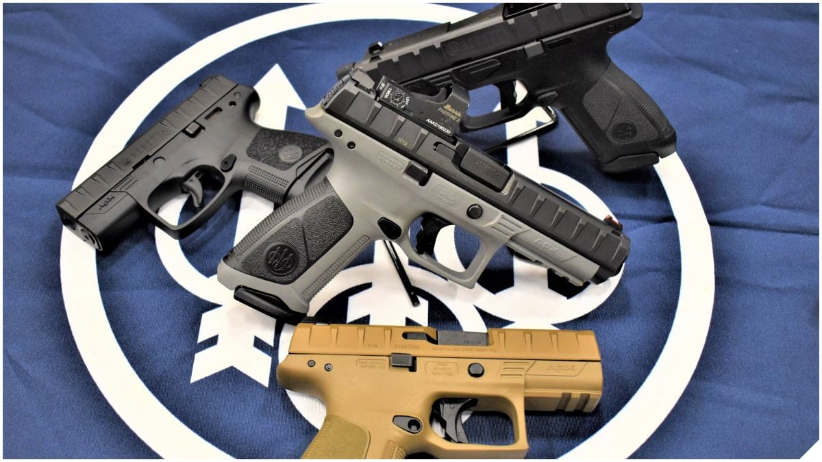 Beretta APX Wins Major European Police Contract