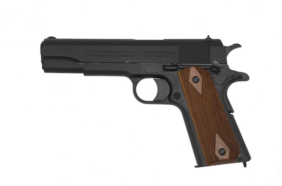 Based on the WWI original blueprints, the new Black Army replicates the guns Colt made for the military during 1918 and early 1919. (Photo: Colt)