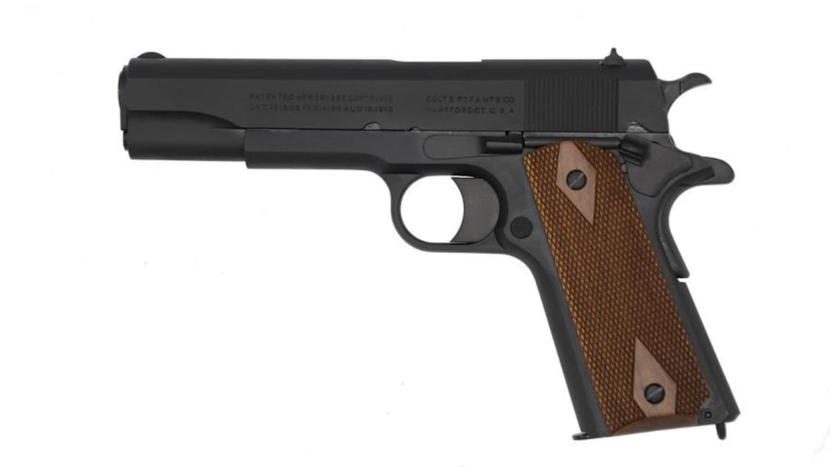 Colt to Deliver New Black Army M1911 to Market