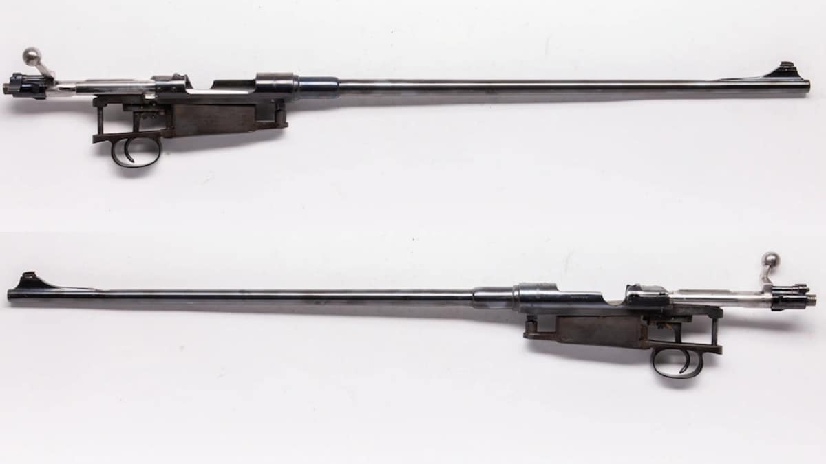 Husqvarna action, chambered in 6.5x55mm