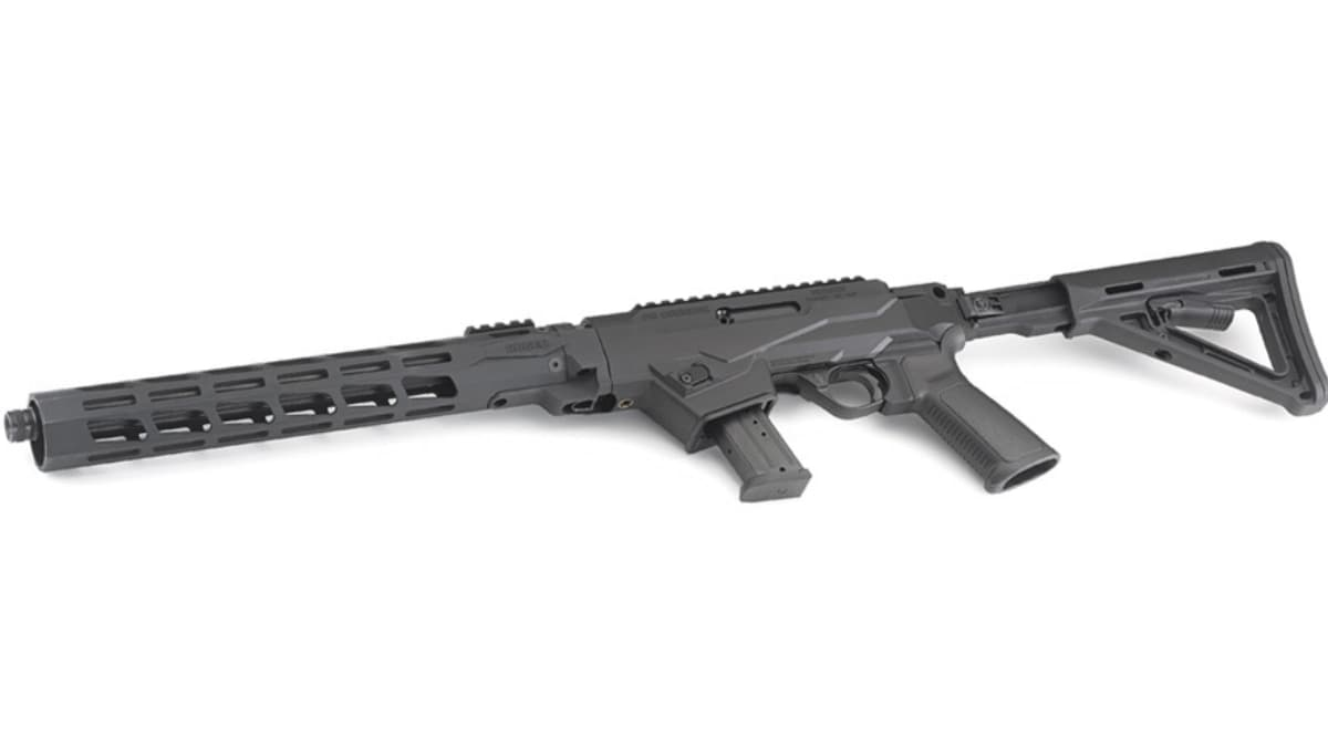 New Ruger PC Carbine Chassis Models Allow AR Stocks, Grips