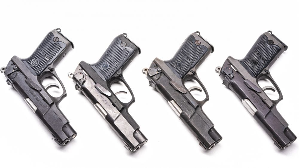 A short recoil-operated, locked-breech pistol that was more modern than guns like the Browning Hi-Power, the Ruger P-85 was U.S.-made answer in the late 1980s to European imports like the Beretta 92, CZ 75, Glock 17 and Sig P226.