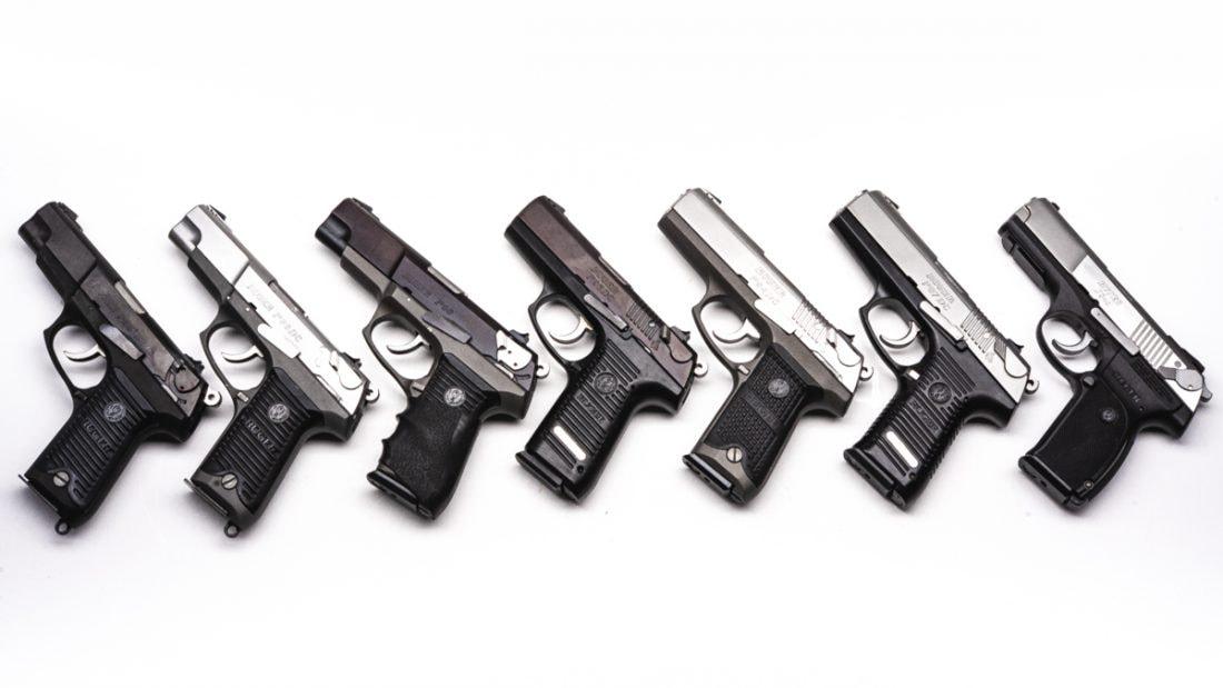 Ruger P series handguns