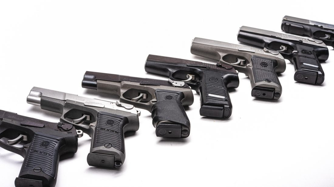 Ruger P series pistols