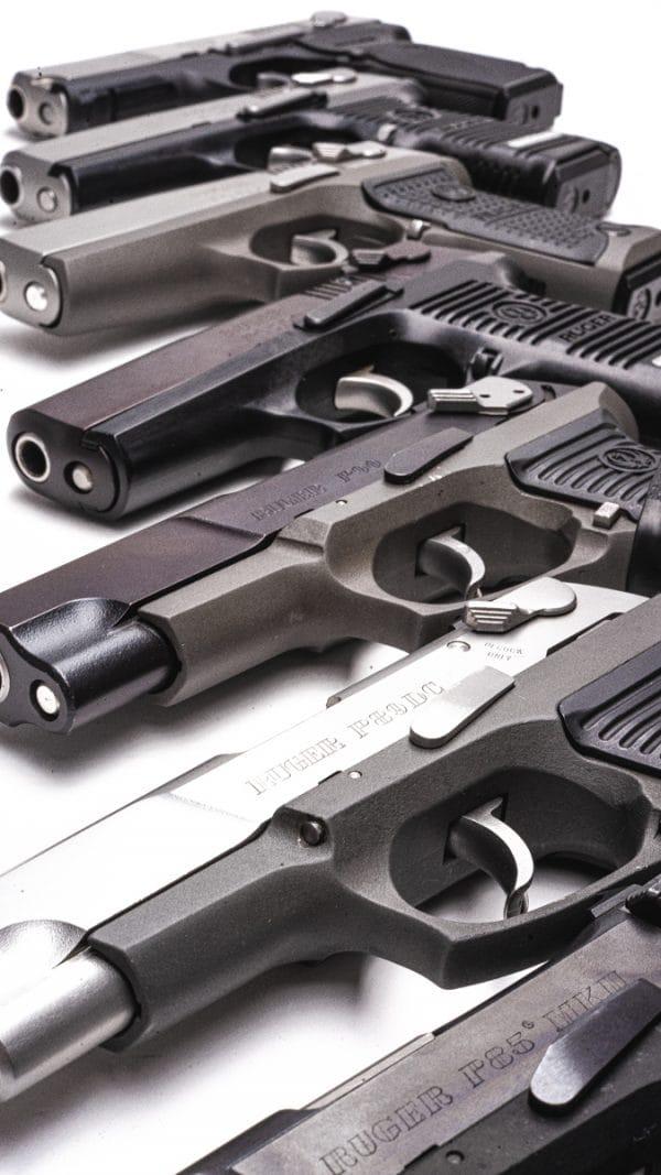 Ruger P series pistols