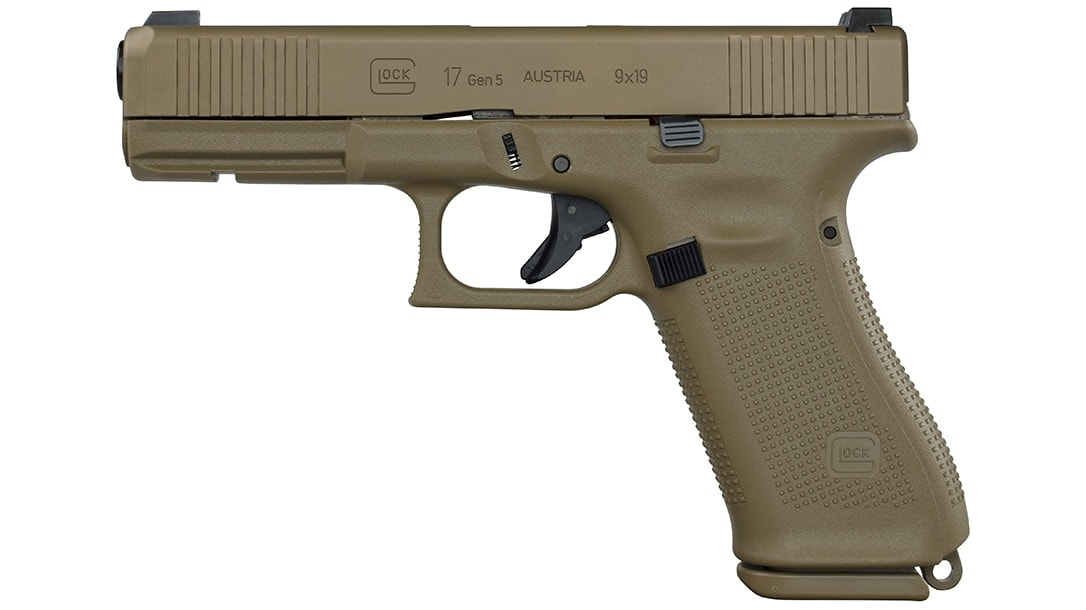 Sadly, Glock says there are no plans to release the coyote variation of the G17 Gen5 selected by the Portuguese Army to the commercial market at this time.