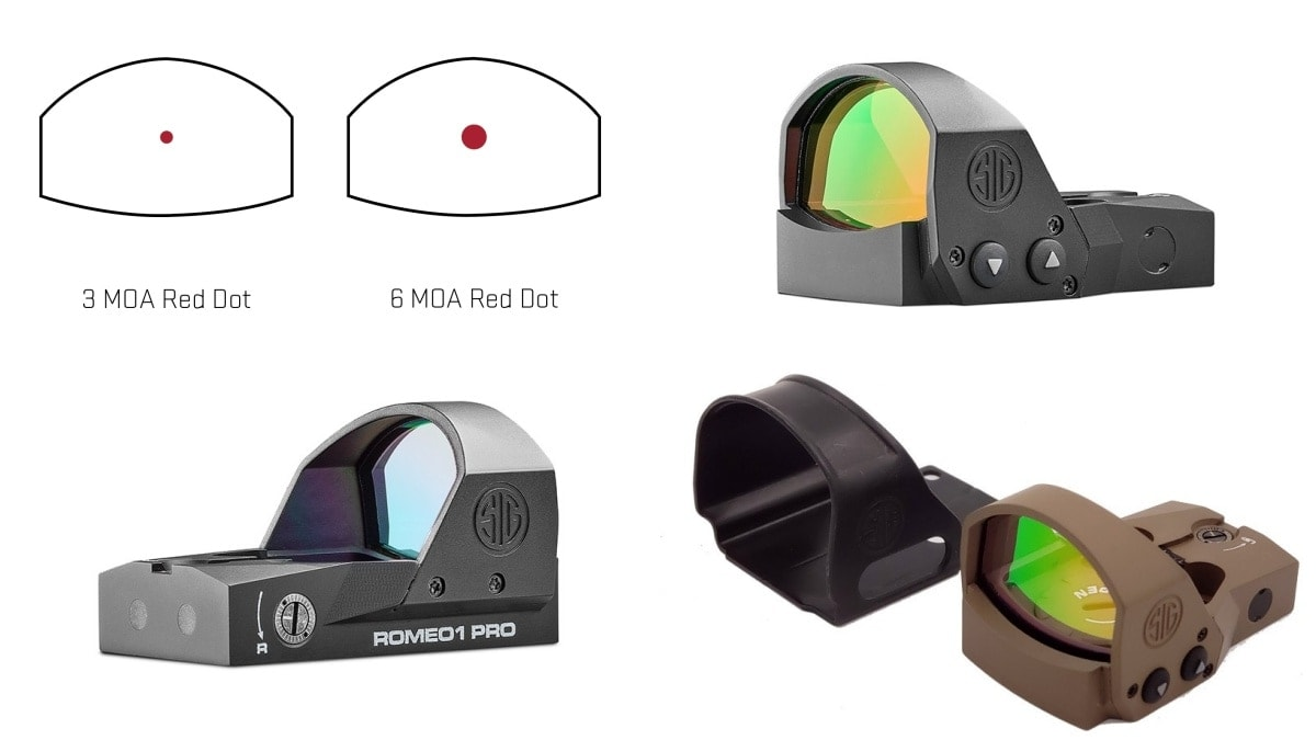 ROMEO1PRO Open Reflex Red Dot Sight